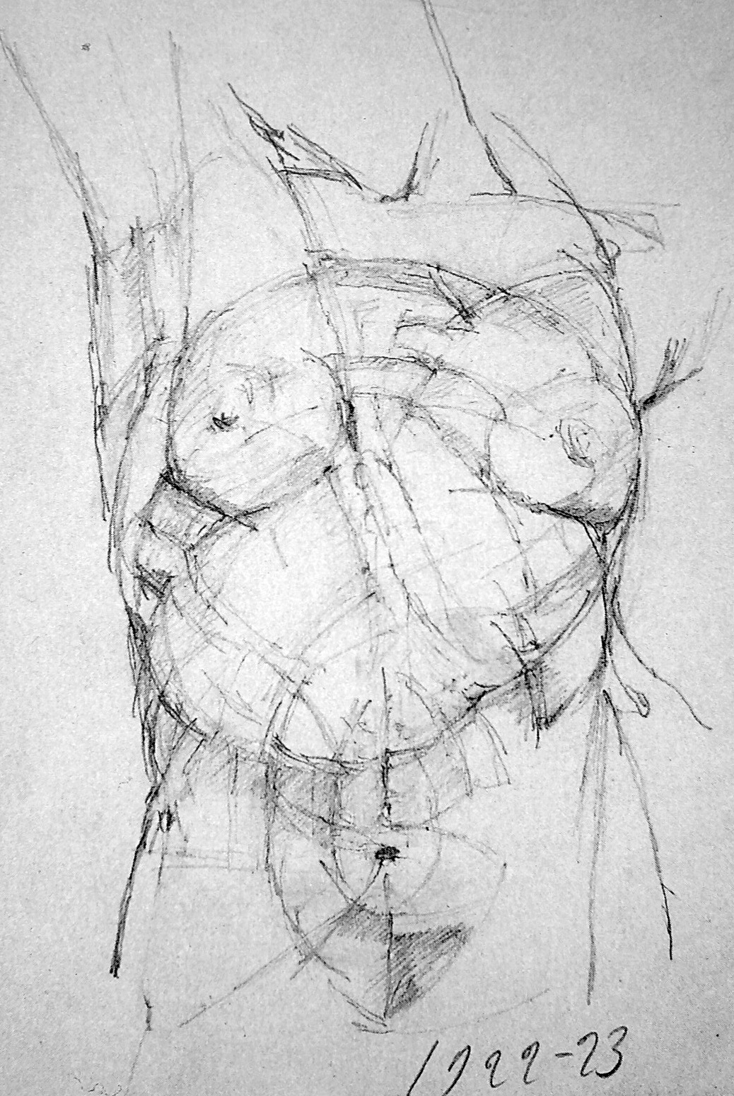 Alberto giacometti gesture drawings